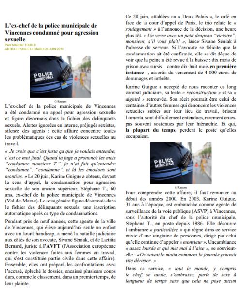 Article Médiapart : Partie 1
