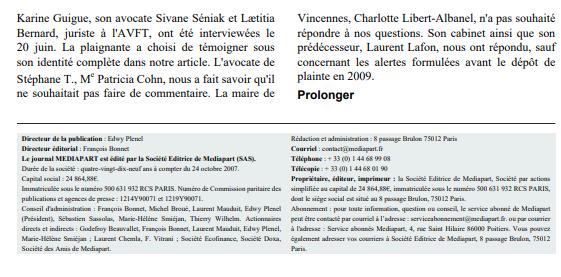 Article Médiapart : Partie 7